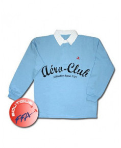 """Polo F.F.A. """"Aéro-Club"""" Homme - Taille XXL"""
