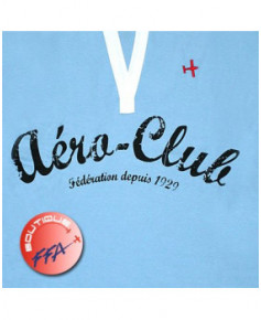 "Polo F.F.A. ""Aéro-Club"" Femme - Taille L"