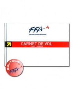 Carnet de vol Avion F.F.A. - couverture rigide