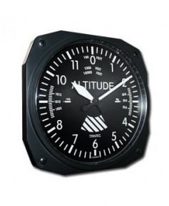 Horloge 26 cm altimètre classique