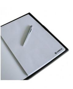 Carnet de conférence Airbus en cuir avec stylo - Format A4