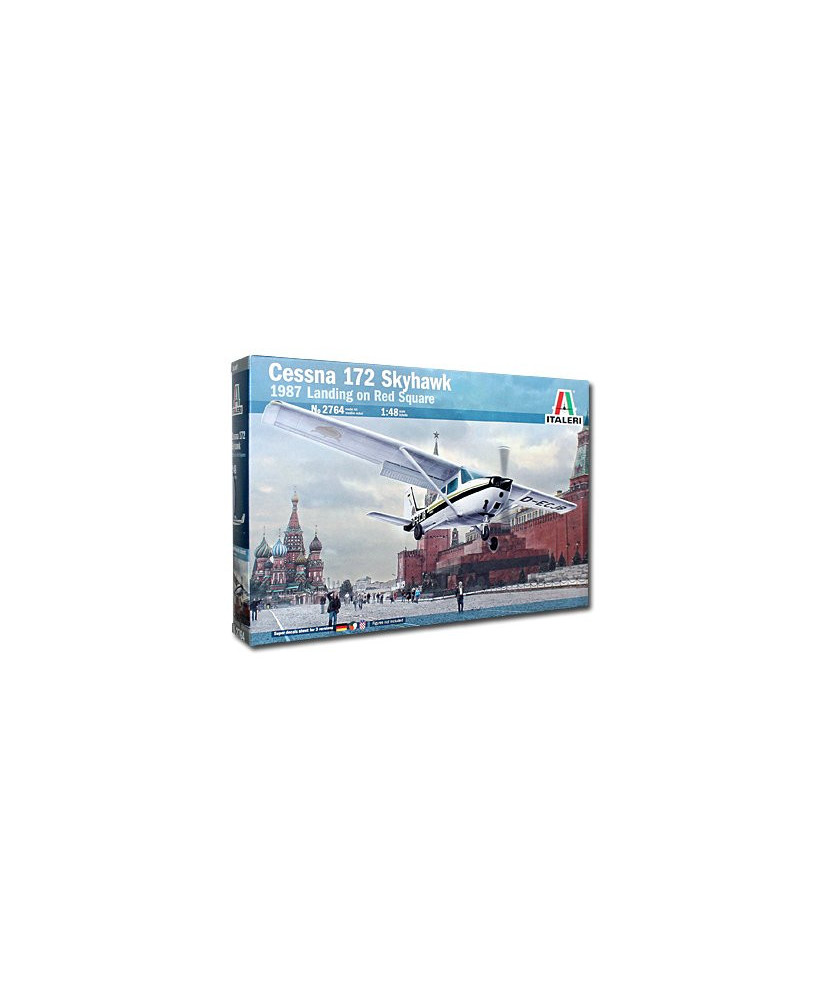 Maquette à monter CESSNA 172 Skyhawk - Landing on red square (1987) - 1/48e