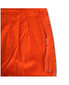 Combinaison pilote orange - Taille FR 40 (EUR 44)