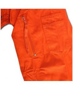 Combinaison pilote orange - Taille FR 42 (EUR 46)