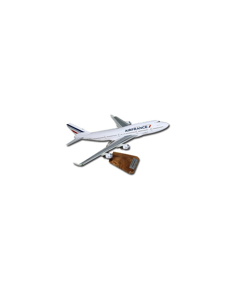 Maquette bois Boeing 747 Air France F-GITD - 1/144e
