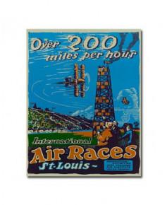 Plaque décorative Air races / Saint-Louis