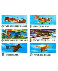 Boite de 48 avions en polystyrène à lancer