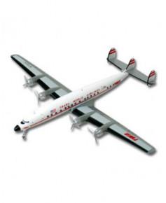 """Maquette métal Lockheed L-1649A """"Starliner"""" TWA - 1/200e"""