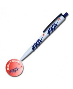 Lot de 10 stylos F.F.A. - marquage douceur