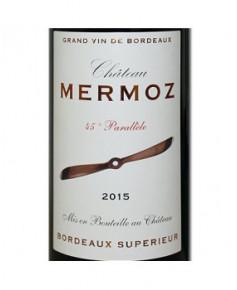 Château Mermoz 45e Parallèle - 2015 - Bordeaux supérieur