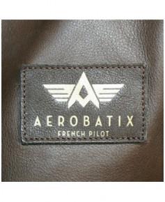 Blouson cuir marron Mermoz F01 - Taille XL