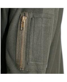 Tee-shirt kaki manches longues AIR - Taille S