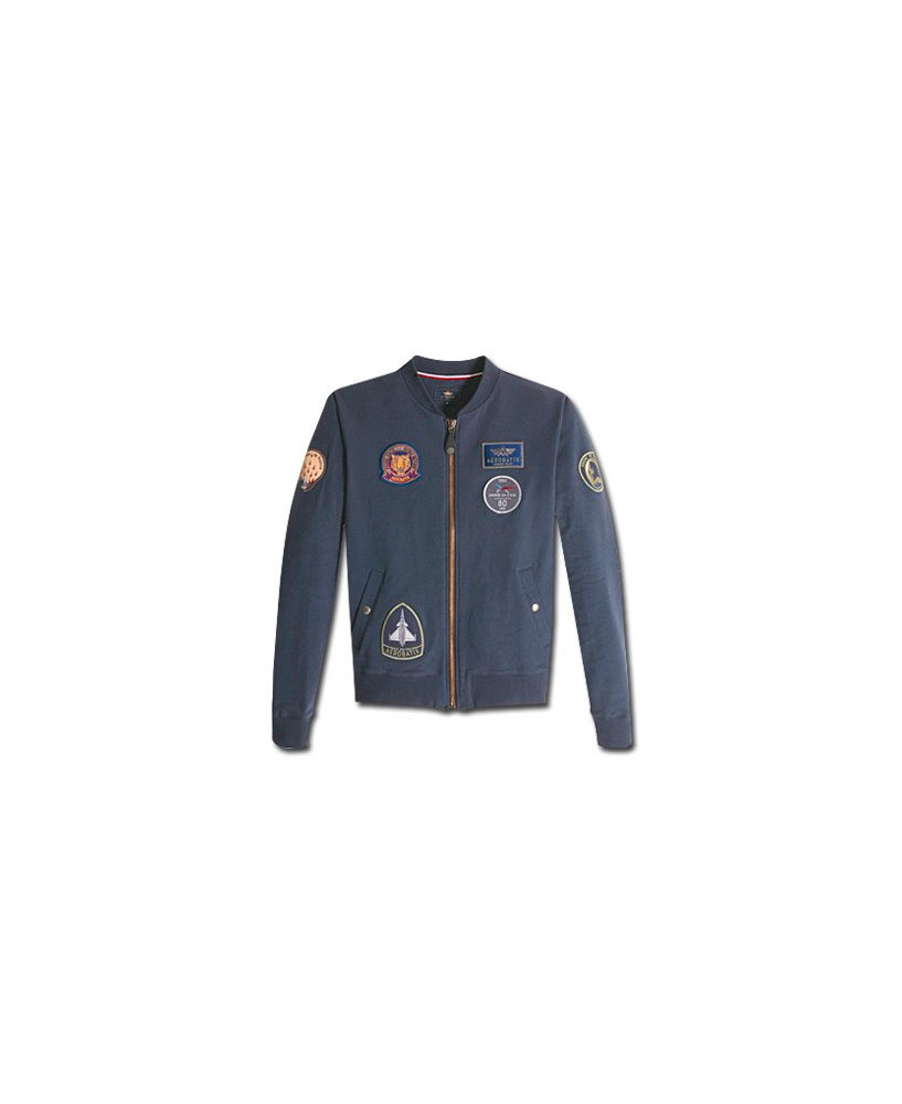 Sweat-shirt marine FLY IN - Taille L