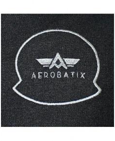 Tee-shirt noir manches longues AIR - Taille S