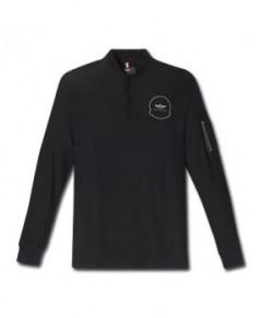Tee-shirt noir manches longues AIR - Taille M