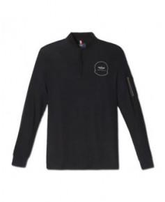 Tee-shirt noir manches longues AIR - Taille XL