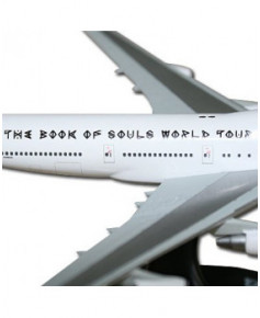 Maquette plastique Boeing 747-400 Iron Maiden - 1/400e