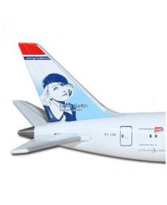 "Maquette métal B787-9 Dreamliner Norwegian ""Greta Garbo"" - 1/500e"