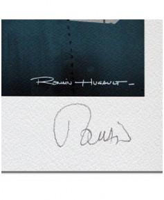 Affiche Pin-Up à bord - Signée - Romain HUGAULT - 70 x 50 cm