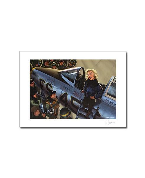 Affiche Marilyn - Signée - Romain HUGAULT - 70 x 50 cm