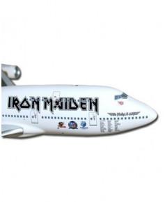Maquette plastique Boeing 747-400 Iron Maiden - 1/200e