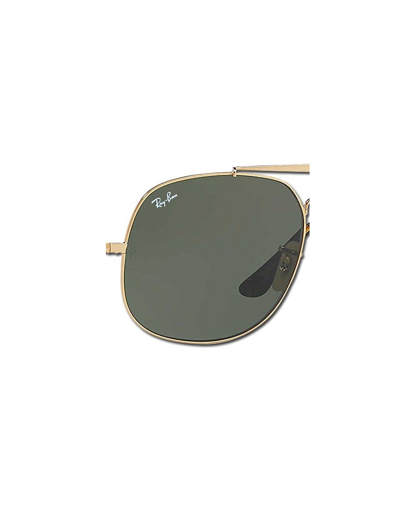 Lunettes Ray-Ban General (taille moyenne) - Monture dorée