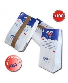 Lot de 100 sacs vomitoires F.F.A.