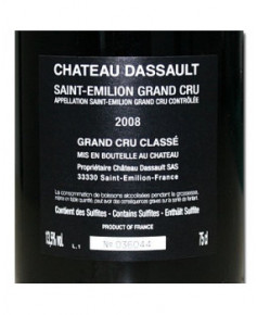 Château Dassault - 2008 - Saint-Emilion Grand cru classé