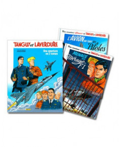 """Une aventure """"Classic"""" de Tanguy et Laverdure - Coffret en 2 volumes"""