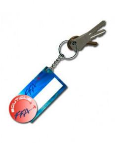 Porte-clés étiquette F.F.A.