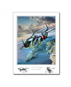 """Poster Benjamin FREUDENTHAL - """"31 juillet 1944"""" - P38 Saint-Exupéry"""