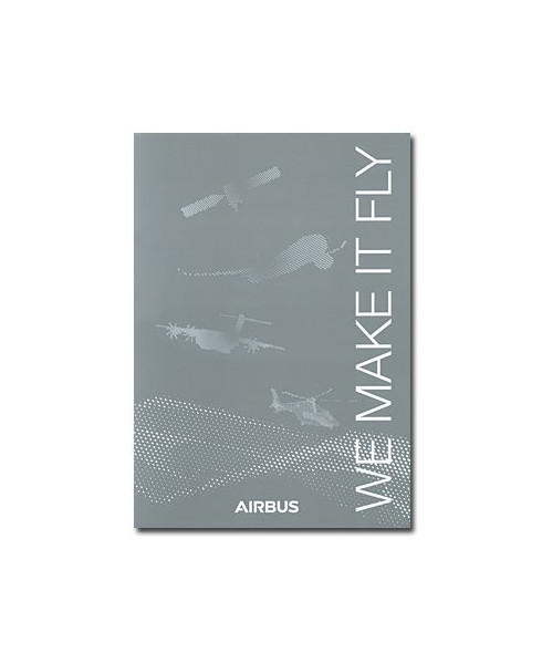 "Bloc-notes Airbus ""We make it fly"" - Format A4"