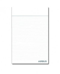 """Bloc-notes Airbus """"We make it fly"""" - Format A4"""