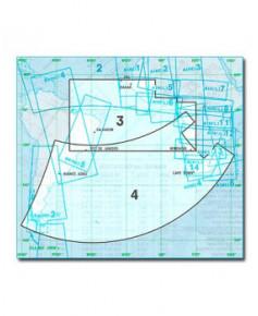 Carte Jeppesen Atlantique En Route haute et basse altitude AT(H/L) 3/4