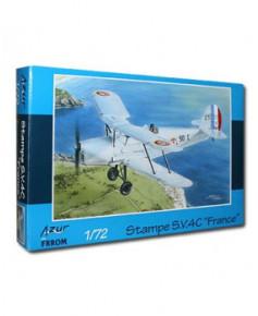 Maquette à monter Stampe SV4C France - 1/72e