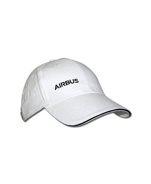 haute couture acheter populaire acheter authentique Casquette blanche Airbus
