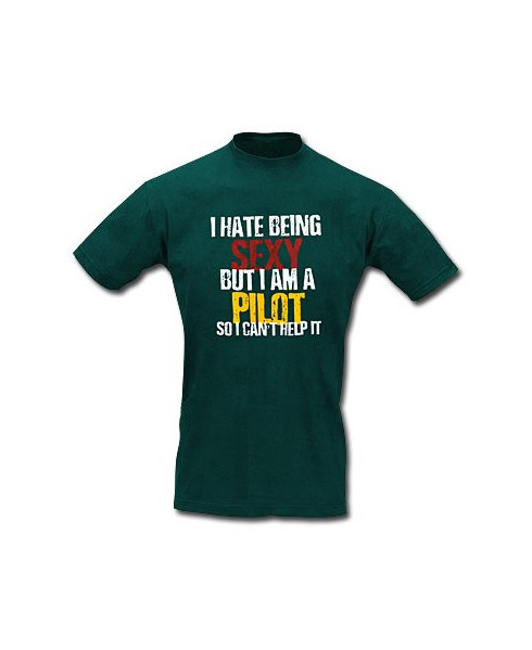 Tee-shirt Sexy pilot - Taille L