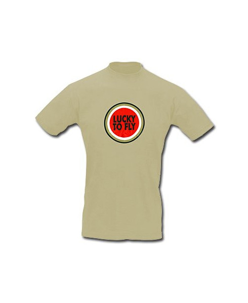 Tee-shirt Lucky to fly - Taille S