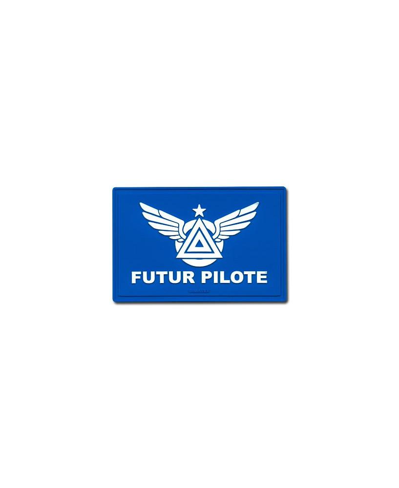 Patch en gomme Futur pilote