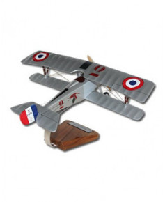 "Maquette bois Nieuport 17N ""Vieux Charles IV"" Georges Guynemer"
