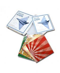 Origami avions - Avec 90 feuilles