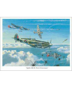 Poster Spitfire Mk IX