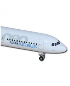 Maquette métal A321neo couleurs Airbus - 1/500e