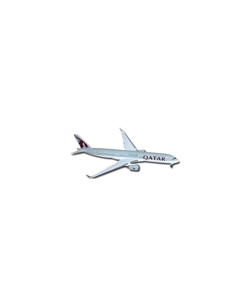 Maquette métal A350-900 Qatar Airways - 1/500e