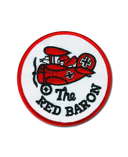 """Ecusson """"The red baron"""""""