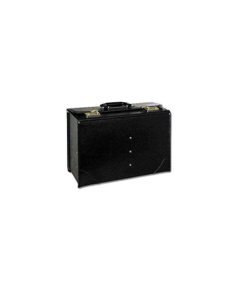 Pilot-case cuir Jeppesen FC-4 19 cm