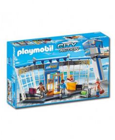 Aéroport avec Tour de contrôle Playmobil®