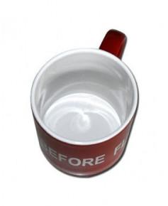 Mug Remove Before Flight