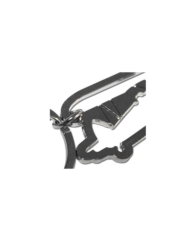 Porte-clés Avion en métal