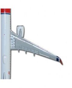 "Maquette métal Boeing 737-800 Norwegian ""ErikBye"" - 1/500e"
